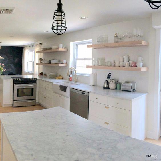 Semihandmade Teak IKEA Kitchen contemporary kitchen contemporary - küchen von ikea