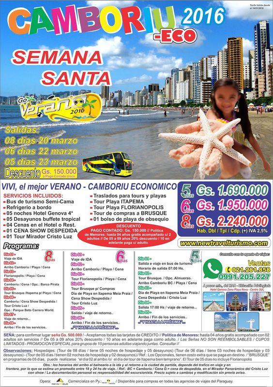 CAMBORIU - SEMANA SANTA 2016