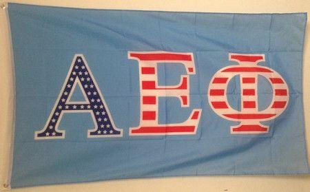 Alpha Epsilon Phi 3x5 Flags