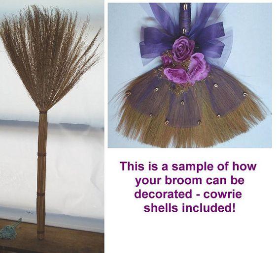 Wedding Broom Ideas: Undecorated African American Wedding Broom