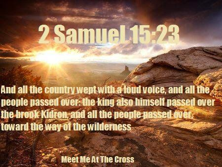 2 Samuel 15:23