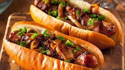 طريقة عمل فاهيتا بالسجق وصفات سهلة وسريعة Hot Dogs Food Temperatures Bbq Recipes
