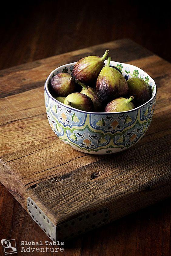 Balsamic Figs with Honey, Thyme & Rosemary from Sasha Martin