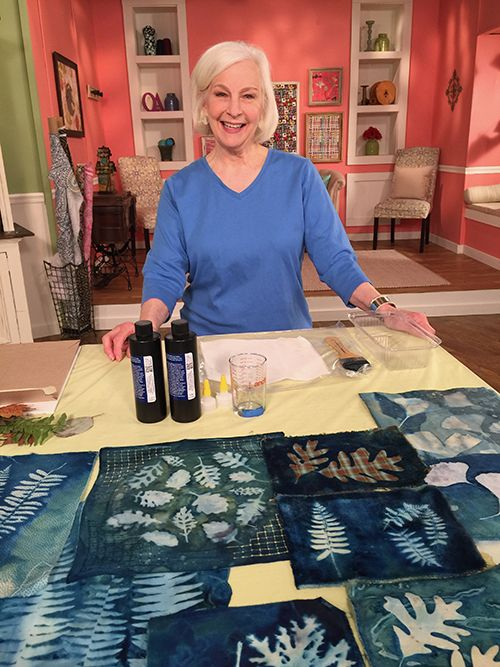 Lesley Riley Guest On Quilting Arts Tv Series 2200 Qatv