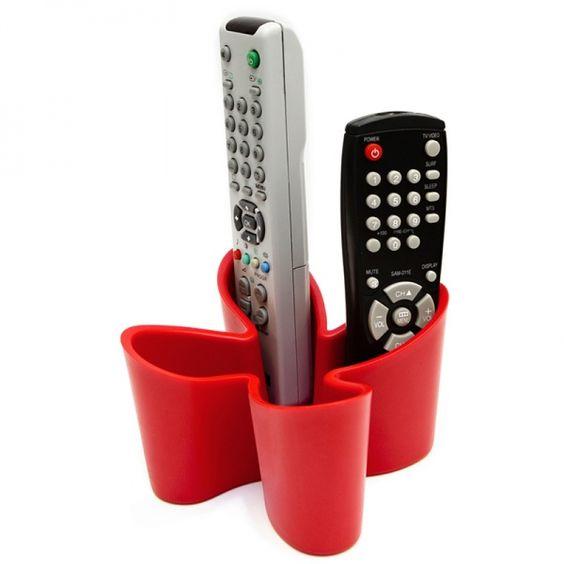 Fernbedienungs-Halter cozy rot - j-me #red #remote #zapper #control