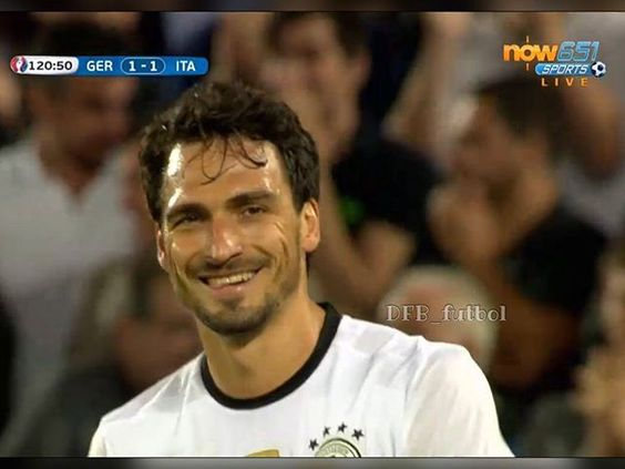 WEBSTA @ dfb_futbol - ⚽ Highlights of EURO 2016 Quarter Final 🌟 FT: Germany 1:1 (6:5) Italy 👍👍👍🇩🇪 #matshummels #hummels #fcbayern #dfb #DieMannschaft #nationalmannschaft #dfbteam #JederFuerJeden #vivelamannschaft #GERITA