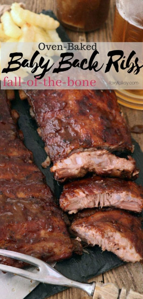 Fall-off-the-bone Baby Back Ribs in Oven