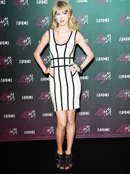 Taylor Swift h�tte den Kleider-Check des britischen Herv� Leger-Chefs bestanden: Sie ist unter 55, nicht lesbisch und schlank.�