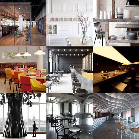 new pinterest board restaurants and bars interior