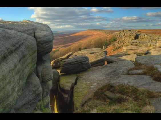 Stanage Edge in the Peak District Via Cheshire Life and ragphotography.co.uk