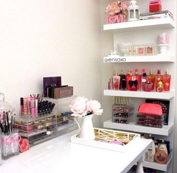 Cómodas, Ideas Tocadores, Muebles De Maquillaje, Maquillaje Con