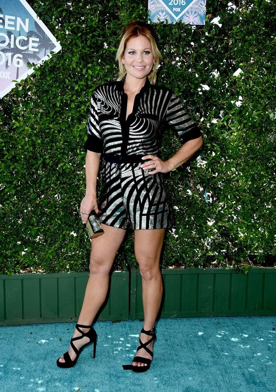 Pin for Later: Seht alle Stars auf dem roten Teppich der Teen Choice Awards Candace Cameron Bure