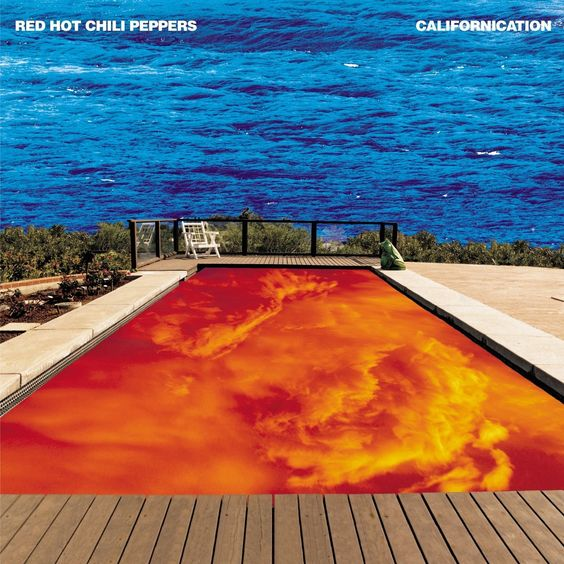 Red Hot Chili Peppers – Californication (single cover art)