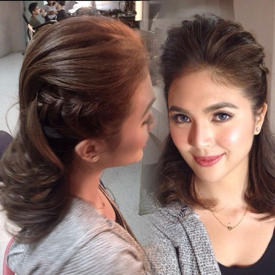 My hair for Sofia Andres @iamsofiaandres ❤️ #celebrity #asap20 #taping #fierce #mohawk  #sidedbride #fingercomb #hairstylist #hairstyle #hair #professionalhairstylist #hairbybianca_anne #iger #igerlist #manilahairstylist #pinoyhairstylist #philippinehairstylist