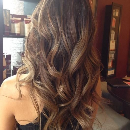 Balayage Highlights Hair Inspiration