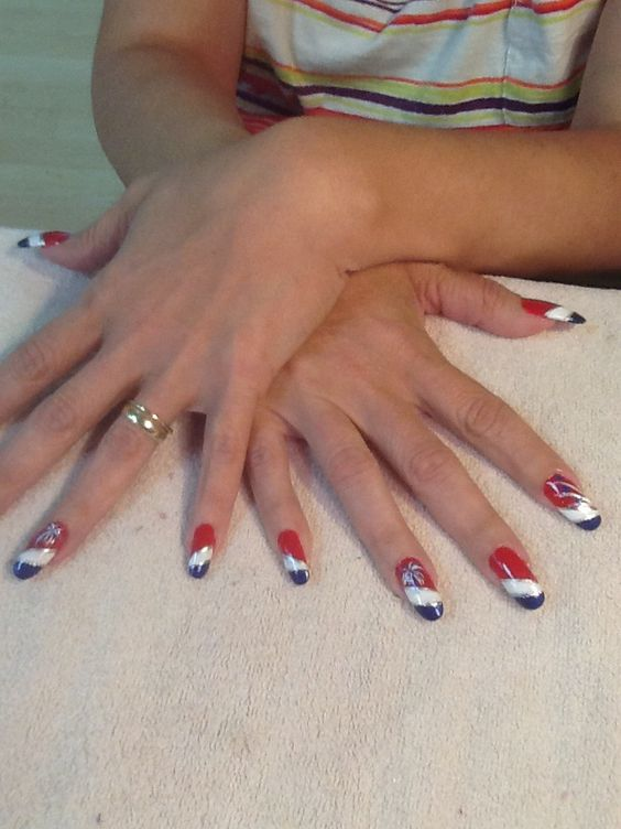 Red, White & Blue! By Becki @ Trendsetters, Whitesboro, NY