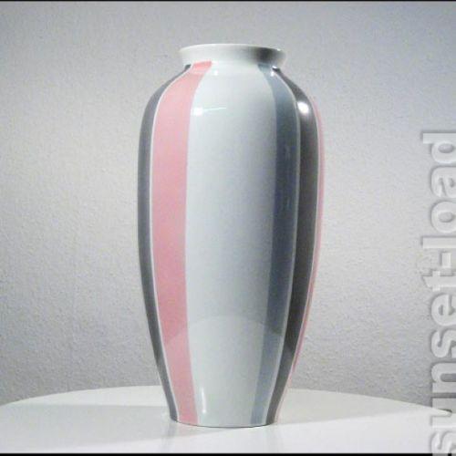 Grosse-alte-Krautheim-Boden-Vase-H-45cm-Porzellan-50er-60er-Jahre-vintage-alt
