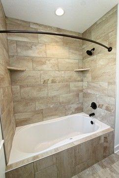 9 Secret Advice To Make An Outstanding Home Bathroom Remodel Bathroom Tub Shower Combo Bathroom Tub Shower Tub Remodel