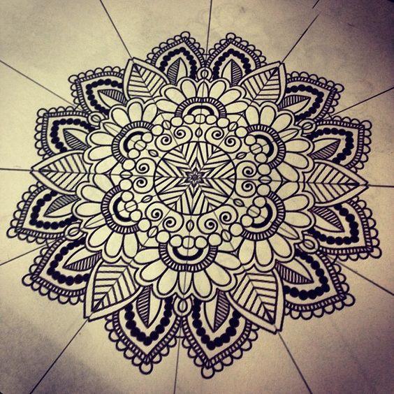Mandala Tattoo Design On Pinterest: Mandala Designs, Corvidaetattoo: This Is Available For £