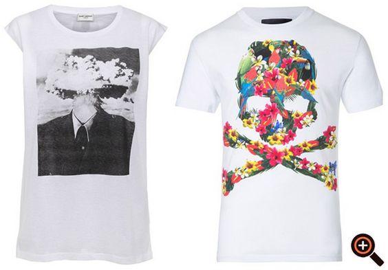 Weißes T-Shirt von Gucci, Louis Vuitton, Givenchy & Adidas, Hollister, Nike