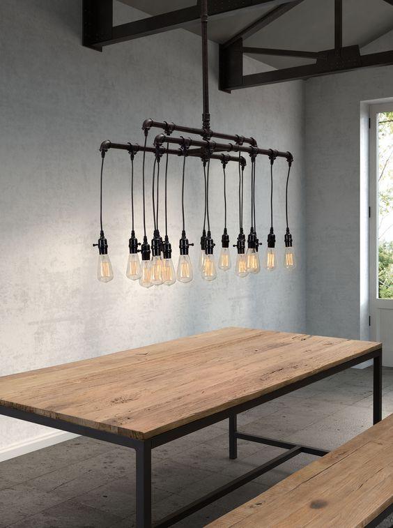 Zuo Modern Contemporary Maldonite Rust Black 16 Light Pendant