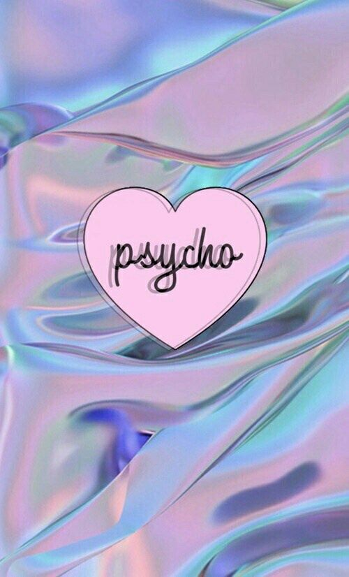 Account Suspended Holographic Wallpapers Tumblr Iphone Wallpaper Psycho Wallpaper