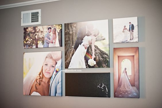 Perfect wall display.  I love the variety of sizes