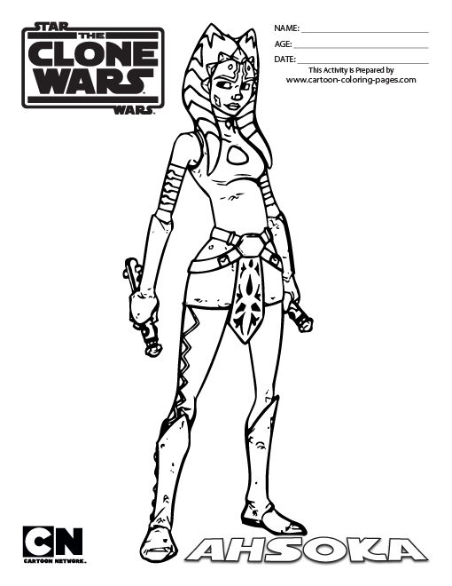 Star Wars The Clone Wars Captain Rex Coloring Pages 7 Gif 510 660