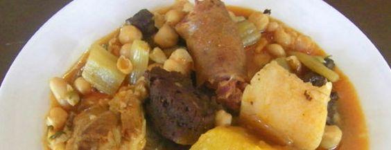 Más de 30 recetas realizadas con garbanzos y habichuelas en la provincia de Cádiz     Con garbanzos  Berza de la Venta Aurelio Berza chiclanera o de