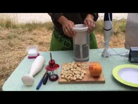 Elabora horchata natural y bebidas vegetales