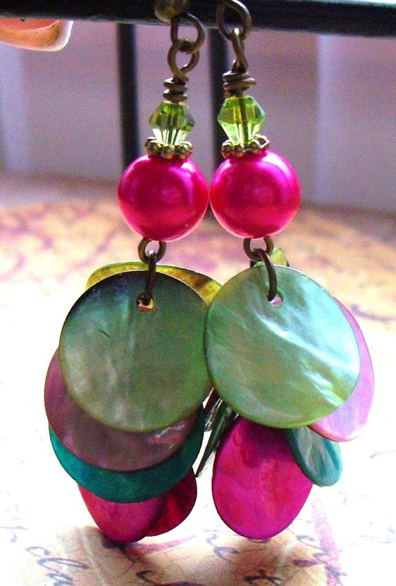 cha cha earrings.