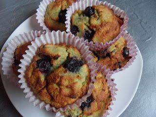 paleode : Blaubeer-Muffins (OHNE Gluten, Milch, Stärke, Nüsse)