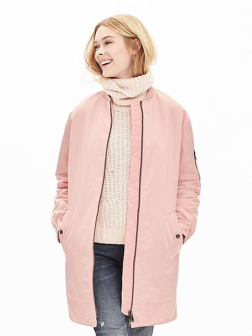 Keep it colorful this fall and winter season with this blush pink ...