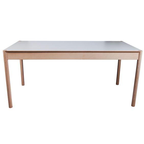 Kök köksbord hay : C44 bord fra Hay er designet av Jørgen Baekmark og har en vendbar ...