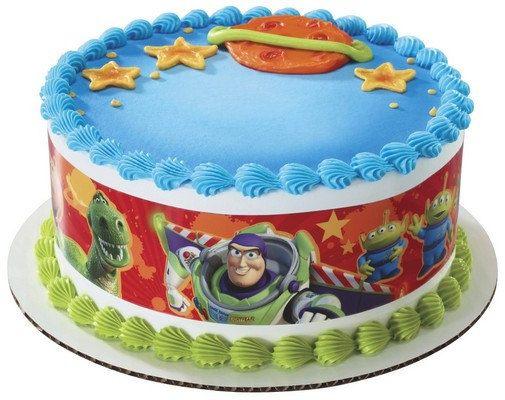 Licensed Edible Cake Images : Disney - Pixar Toy Story 3 Friends Designer Sheet EDIBLE ...