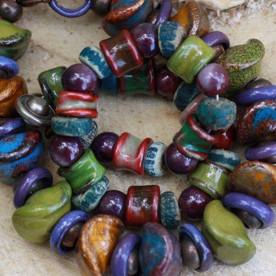 Love these beads handmade by C-Koop Beads