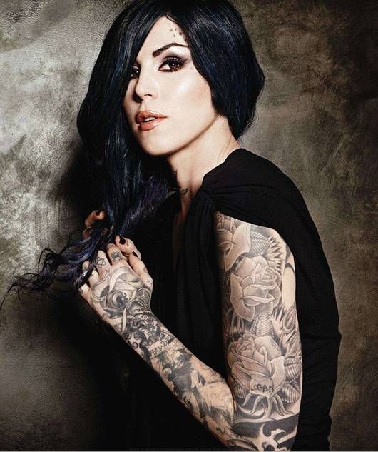 Flower Tattoo Kat Von D: Kat Von, Kat Von D And Love Her On Pinterest