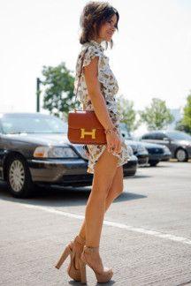 Miroslava Duma at New York Fashion Week Spring/Summer 2013. Photographer: Bridget Fleming.