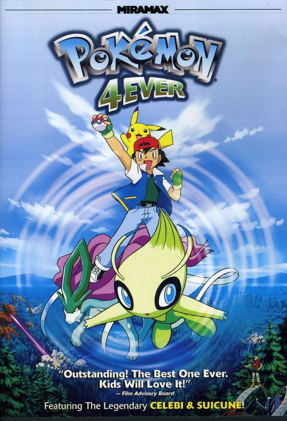 Pokemon 4Ever Celebi Voice of the Forest Movies to