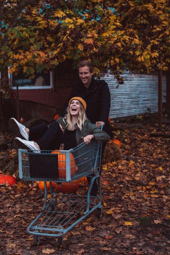 Cute fall shoot