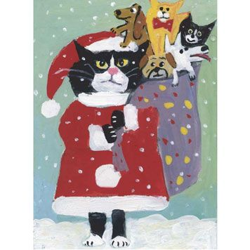 Humane Society Christmas card? Cats: