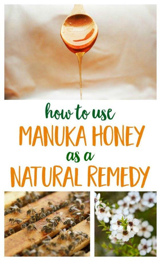 The Amazing Medicinal Health Benefits Of Manuka Honey Natural Honey And Medicine