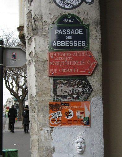 Le passage des Abbesses  (Paris 18ème)