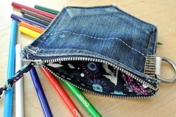 Ideias para Reciclar Jeans Velhos