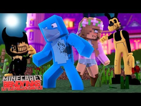 Bendy And The Ink Machine Ink S Little Kelly S Castle Minecraft
