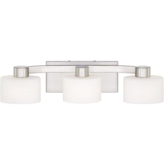 Brushed Nickel Bathroom Lighting Fixtures: Brushed Nickel Bathroom Vanity Light Fixtures,Lighting