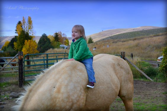 Horses are a girl's first love