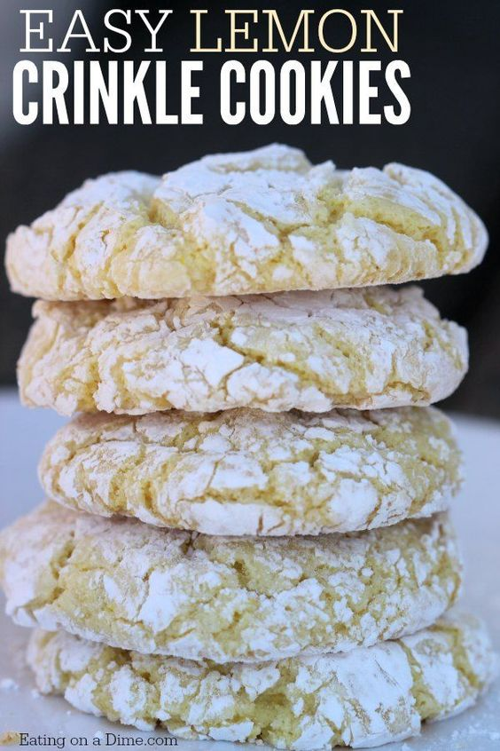 ... this easy lemon cool whip cookies recipe. The Best Cake mix cookies