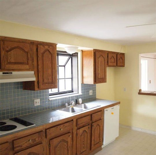 Kitchen Before & After: A Closed Off Kitchen Opens Up — Kitchen Remodel