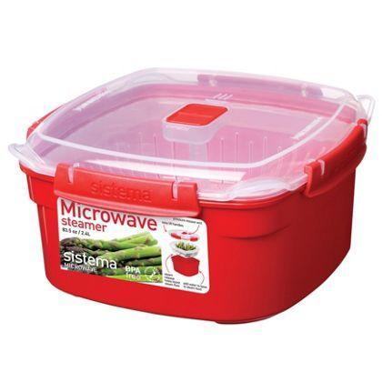 Sistema Microwave Steamer - 2.4L